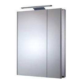 Roper Rhodes Refine Slimline Mirror Cabinet with Electrics - AS615ALSL