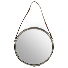 Aspen Round Wall Hung Mirror