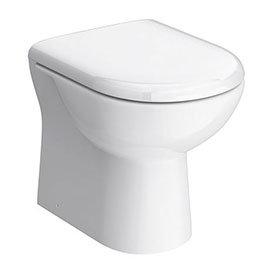 Alaska Back to Wall Toilet Pan + Soft Close Seat