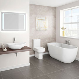 Antonio Double Ended Curved Free Standing Bath Suite