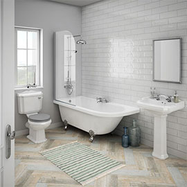 Appleby LH Traditional Bathroom Suite