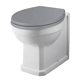 Bayswater Fitzroy Traditional Back To Wall Pan