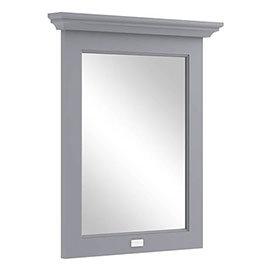 Bayswater Plummett Grey 600mm Flat Mirror