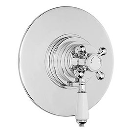 Bayswater Round Dual Thermostatic Concealed Valve