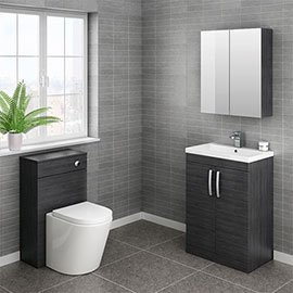 Brooklyn Cloakroom Suite (Hacienda Black)