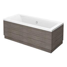 Brooklyn Grey Avola Double Ended Bath