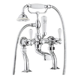 Crosswater - Belgravia Lever Bath Shower Mixer with Kit - BL422DC_LV