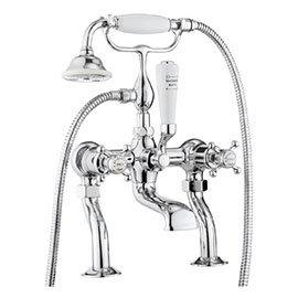 Crosswater - Belgravia Crosshead Bath Shower Mixer with Kit - BL422DC