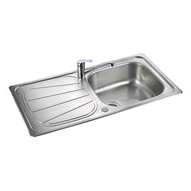 Rangemaster Baltimore 1.0 Bowl Stainless Steel Kitchen Sink