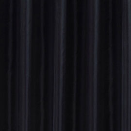 Black W2400 x H2000mm Extra Wide Polyester Shower Curtain