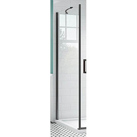 Merlyn Black Side Panel for Hinge Door