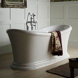 Heritage Orford 1700 x 740mm Double Ended Slipper Roll Top Bath