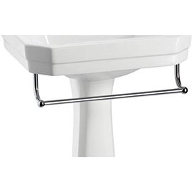 Burlington - Medium Add On Towel Rail - For Selected Basin/Pedestal Sets - T1