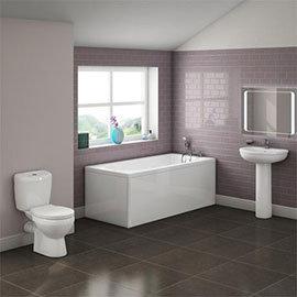 Barmby 5 Piece 1TH Bathroom Suite Medium Image
