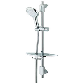 Bristan - EVO Shower Kit with Large Multi Function Handset & Shelf