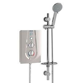 Bristan Joy ThermoSafe Electric Shower Metallic Silver
