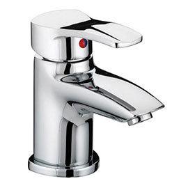 Bristan Capri Contemporary Basin Mixer with Pop-Up Waste - Chrome - CAP-BAS-C