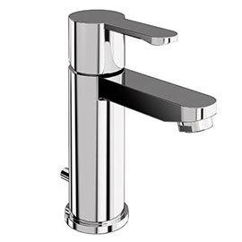 Britton Bathrooms - Crystal basin mixer with pop up waste - CTA2