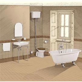 Burlington Victorian 5 Piece Bathroom Suite
