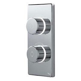 Bathroom Brands Contemporary 2025 Dual Outlet Digital Shower Valve (Bath/Shower)