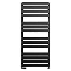 Bauhaus Celeste Towel Rail - 500 x 1100mm - Metallic Black Matte