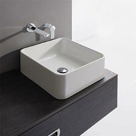 Crosswater - Bold Countertop Basin - 400 x 400mm