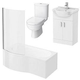 Cove Small Shower Bath Suite