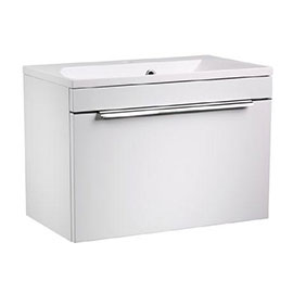 Roper Rhodes Cypher 600mm Wall Mounted Unit - Gloss White