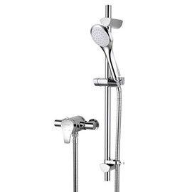 Bristan Capri2 Thermostatic Exposed Shower Valve + Adjustable Riser