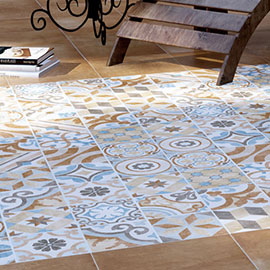 Carmona Porcelain Patterned Wall and Floor Tiles - 300 x 300mm
