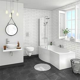 Casca Wall Hung Bathroom Suite