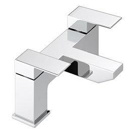 Cast Bath Filler - Chrome