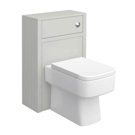 Chatsworth 500mm Traditional Grey Toilet Unit Only
