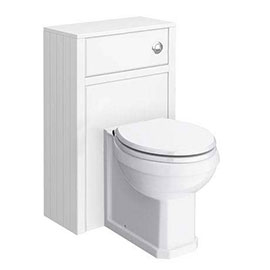 Chatsworth Traditional 500mm White Toilet Unit + Pan