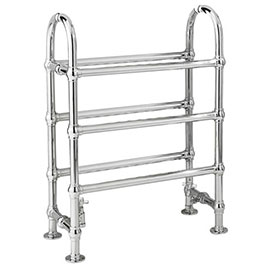 Old London - Chrome Clevedon Radiator - 820 x 520mm - LDR009