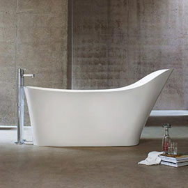 Clearwater - Nebbia Natural Stone Bath - 1600 x 800mm - N14