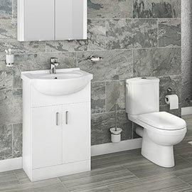 Cove Vanity Unit + Toilet Suite