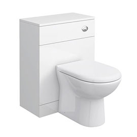 Cove White 600x300mm WC Unit Only