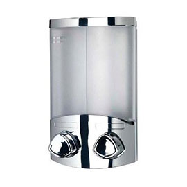 Croydex Euro Soap Dispenser Duo - Chrome - A660941