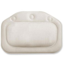 Croydex Standard Bath Pillow - White - BG207022