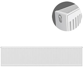 Type 22 H300 x W2000mm Compact Double Convector Radiator - D320K