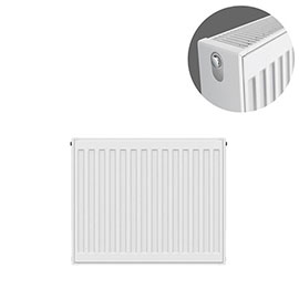 Type 22 H500 x W500mm Compact Double Convector Radiator - D505K