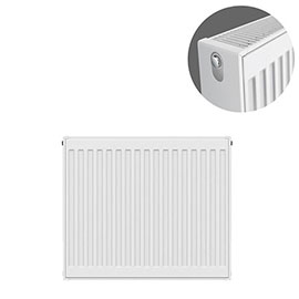 Type 22 H600 x W600mm Compact Double Convector Radiator - D606K