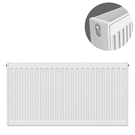 Type 22 H600 x W800mm Compact Double Convector Radiator - D608K