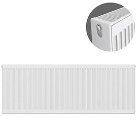 Type 22 H600 x W1800mm Compact Double Convector Radiator - D618K