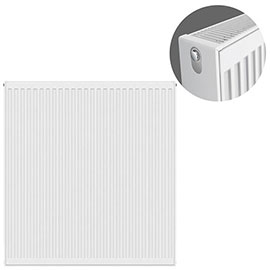 Type 22 H900 x W900mm Compact Double Convector Radiator - D909K