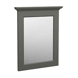 Old London Traditional Mirror (600mm Wide - Charcoal)
