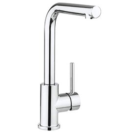 Crosswater Design Side Lever Kitchen Mixer - DE717DC