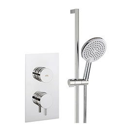 Crosswater Dial Kai Lever 1 Control Shower Valve with Pier Shower Kit