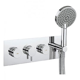 Crosswater - Dial Kai Lever 2 Control Shower Valve with 3 Mode Handset